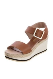 Andre Assous Brown Wedge Sandal - Product Mini Image