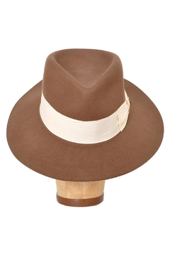 Brooklyn Hat Company Brown Wool Hat - Alternate List Image