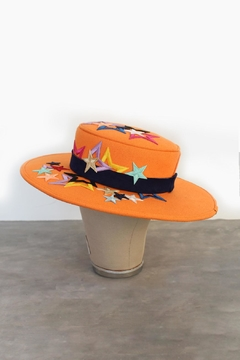 Bruna Abreu Bright Star Hat - Alternate List Image