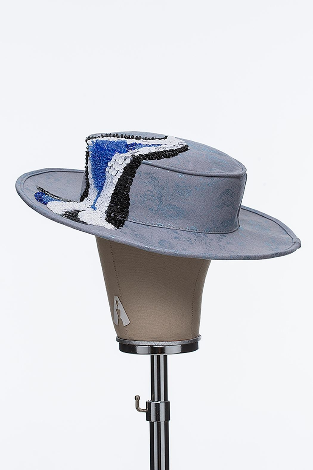 Bruna Abreu Lucky Wave Hat - Front Full Image