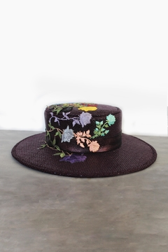 Bruna Abreu Purple Rose Hat - Product List Image