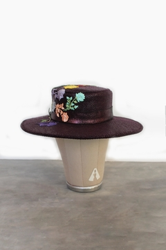 Bruna Abreu Purple Rose Hat - Alternate List Image