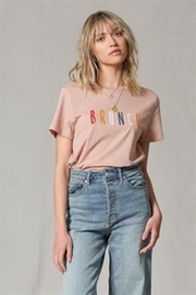 Blank Paige Brunch Graphic Tee - Product Mini Image
