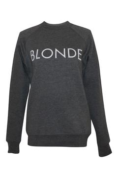 Brunette The Label Blonde Crewneck - Alternate List Image