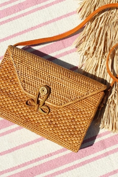 Shoptiques Product: Malina Rattan Crossbody