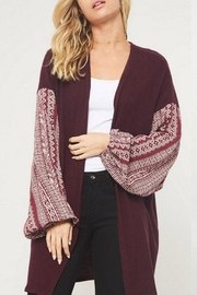 Promesa USA Brush Knit Cardigan - Product Mini Image