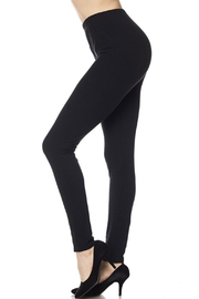 2NE1 Apparel Brushed Black Legging - Product Mini Image