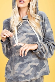 143 Story Brushed Camo Hoodie - Product Mini Image