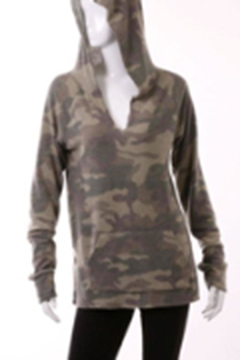 Shoptiques Product: Brushed Camo Hoodie