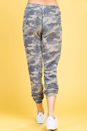 143 Story Brushed Camo Sweatpants - Front full body