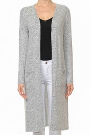 Ambiance Brushed Cardigan - Front cropped