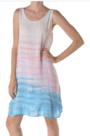 T Party Brushed Dip Dye Dress - Product Mini Image
