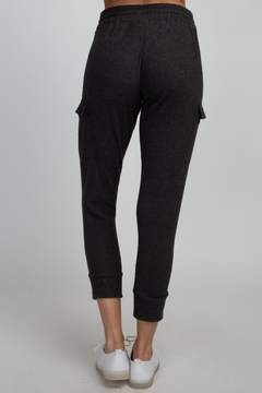 Olivia Graye Brushed Hacci Cargo Joggers - Alternate List Image