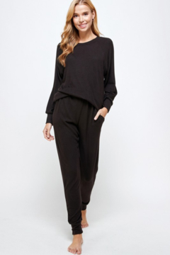 Urban Chic brushed Hacci Jogger - Product List Image