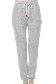 ambiance apparel Brushed Hacci Joggers - Product Mini Image