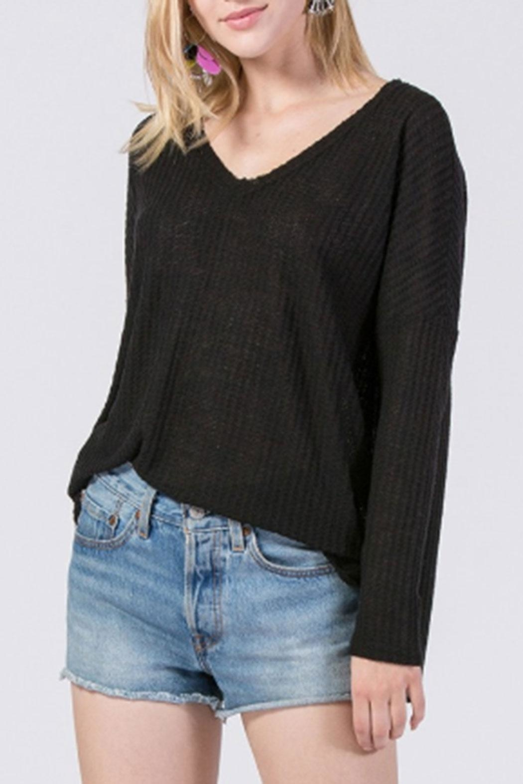 HYFVE Brushed Hacci Thermal - Front Cropped Image
