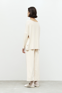 Grade and Gather Brushed Jersey Culotte - Alternate List Image