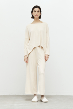 Grade and Gather Brushed Jersey Culotte - Product List Image
