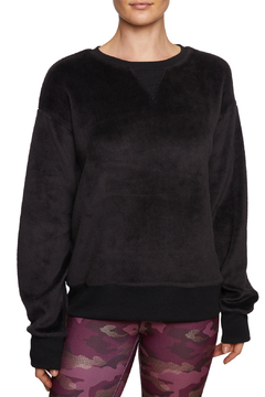 Betsey Johnson Brushed Knit Boyfriend Pullover - Product List Image