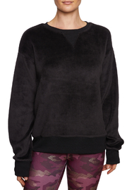 Betsey Johnson Brushed Knit Boyfriend Pullover - Product Mini Image