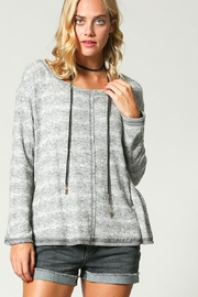 KyeMi Brushed Knit Pullover - Product Mini Image