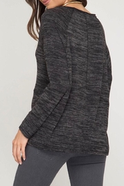 LuLu's Boutique Brushed Knit Top - Front full body