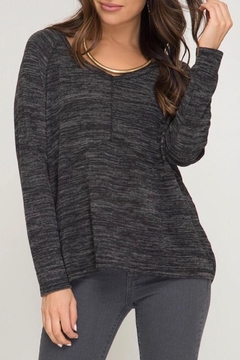 LuLu's Boutique Brushed Knit Top - Product List Image