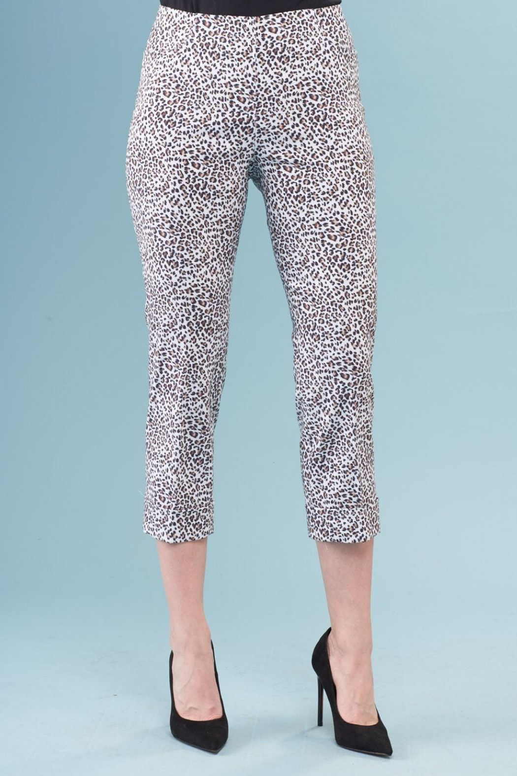 INSIGHT NYC Brushed Leopard Cuffed Pant - Main Image