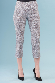 INSIGHT NYC Brushed Leopard Cuffed Pant - Front cropped