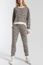 z supply Brushed Leopard Pullover - Product Mini Image