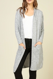 LuLu's Boutique Brushed Long Cardigan - Product Mini Image