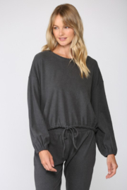 Fate Brushed Loungewear Top - Front cropped