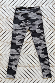 Suzette Brushed Poly Camo Leggings - Product Mini Image
