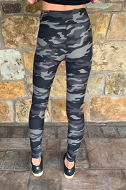 Suzette Brushed Poly Camo Leggings - Side cropped