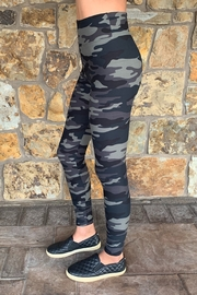 Suzette Brushed Poly Camo Leggings - Front full body