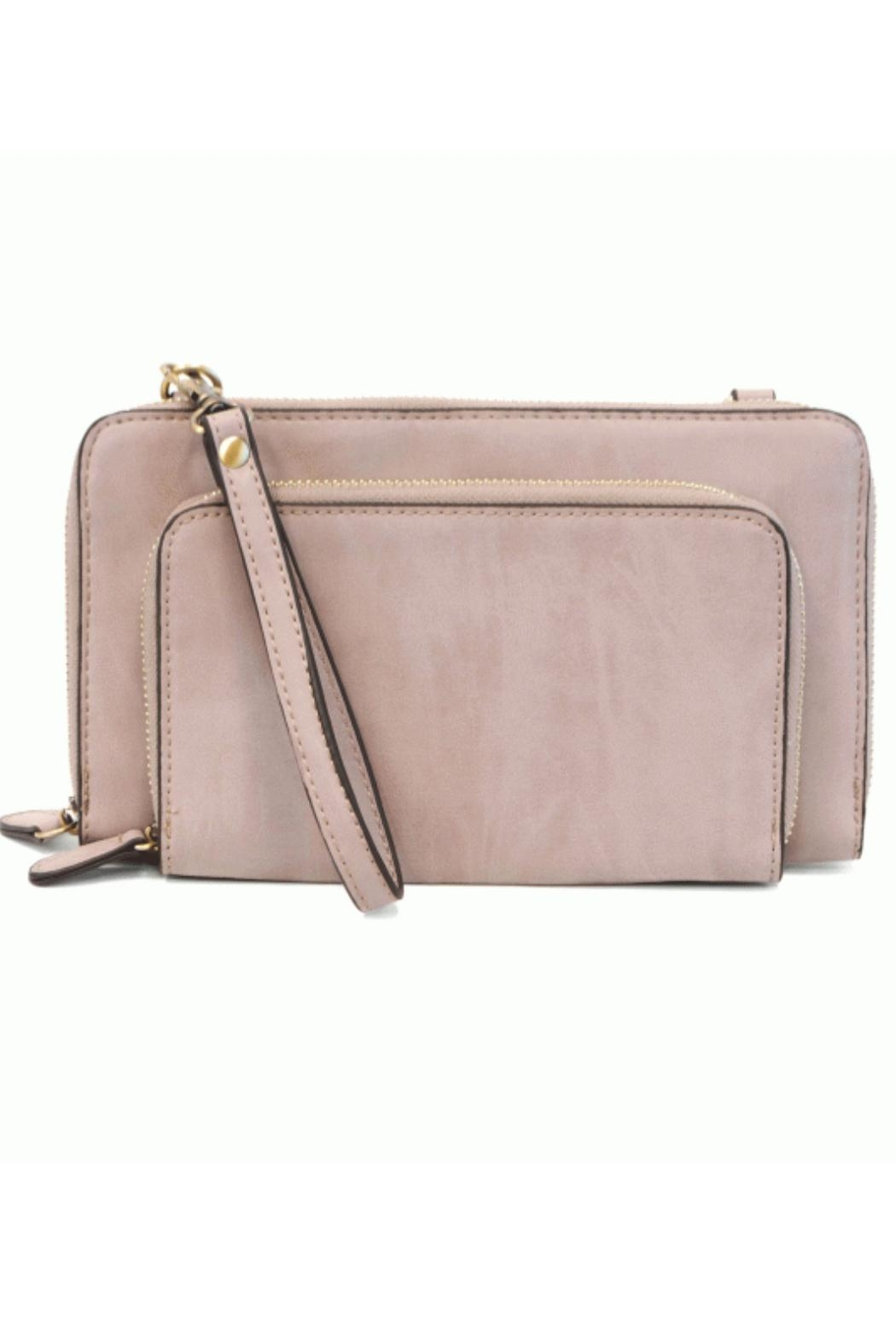 Joy Susan Brushed Wisteria Crossbody - Front Cropped Image