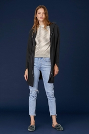 LNA Brushed Zip Up - Front cropped