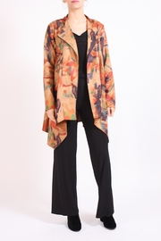 Talk of the Walk Brushstroke Faux-Suede Coat - Product Mini Image