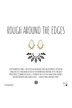Bryan Anthonys Rough Edges Earrings - Product List Image
