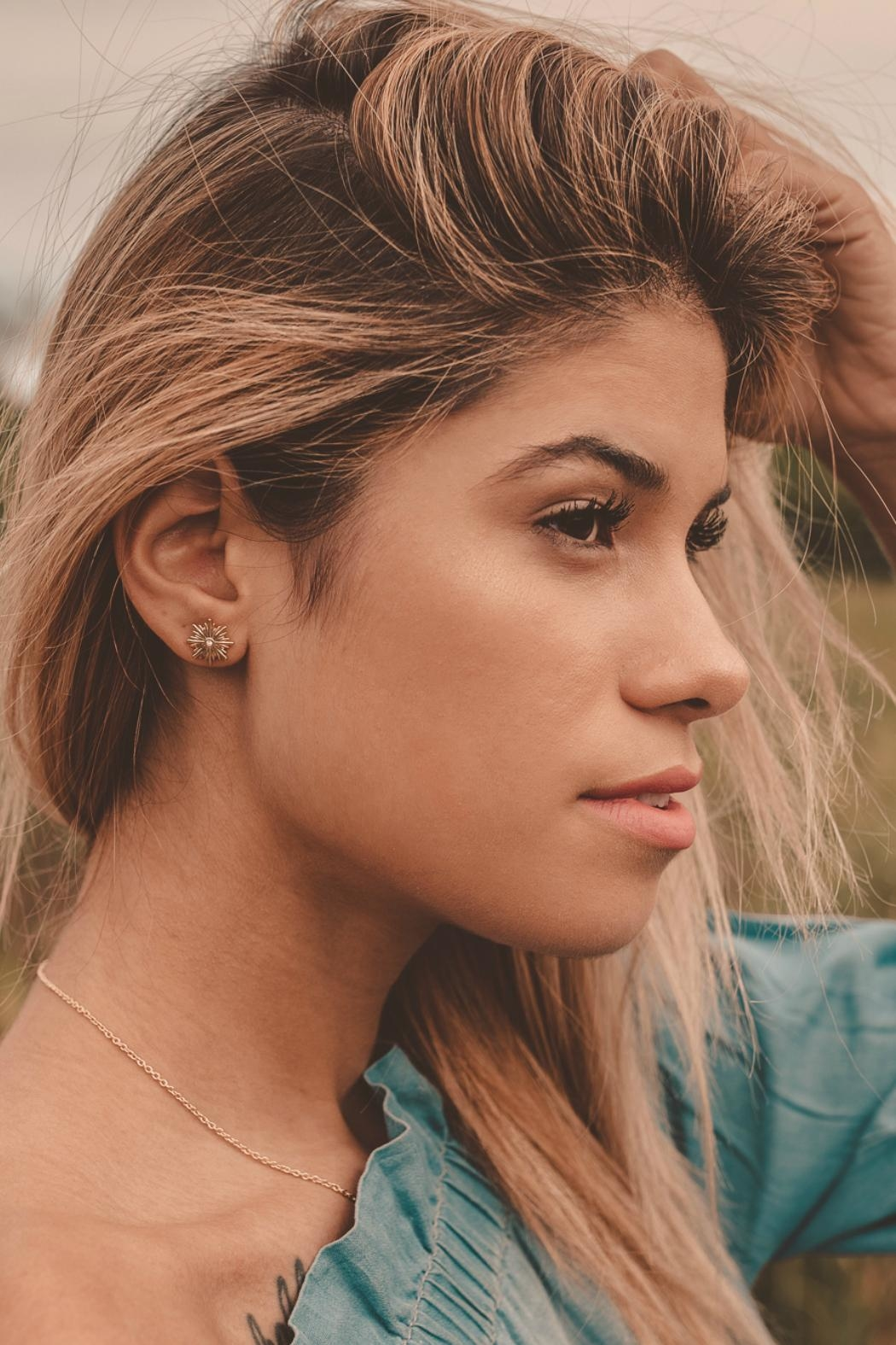 Bryan Anthonys Strength Earrings - Side Cropped Image