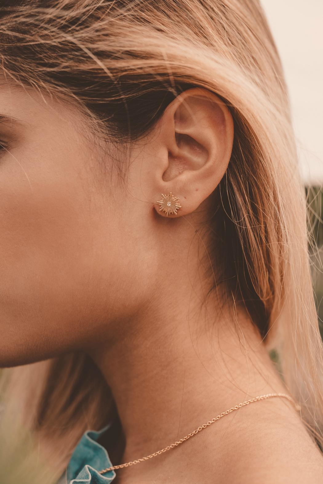 Bryan Anthonys Strength Earrings - Front Full Image