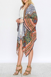 Flying Tomato Bryana Printed Kimono - Product Mini Image