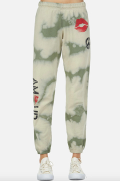 Shoptiques Product: Brynn Spray Kiss Sweatpant