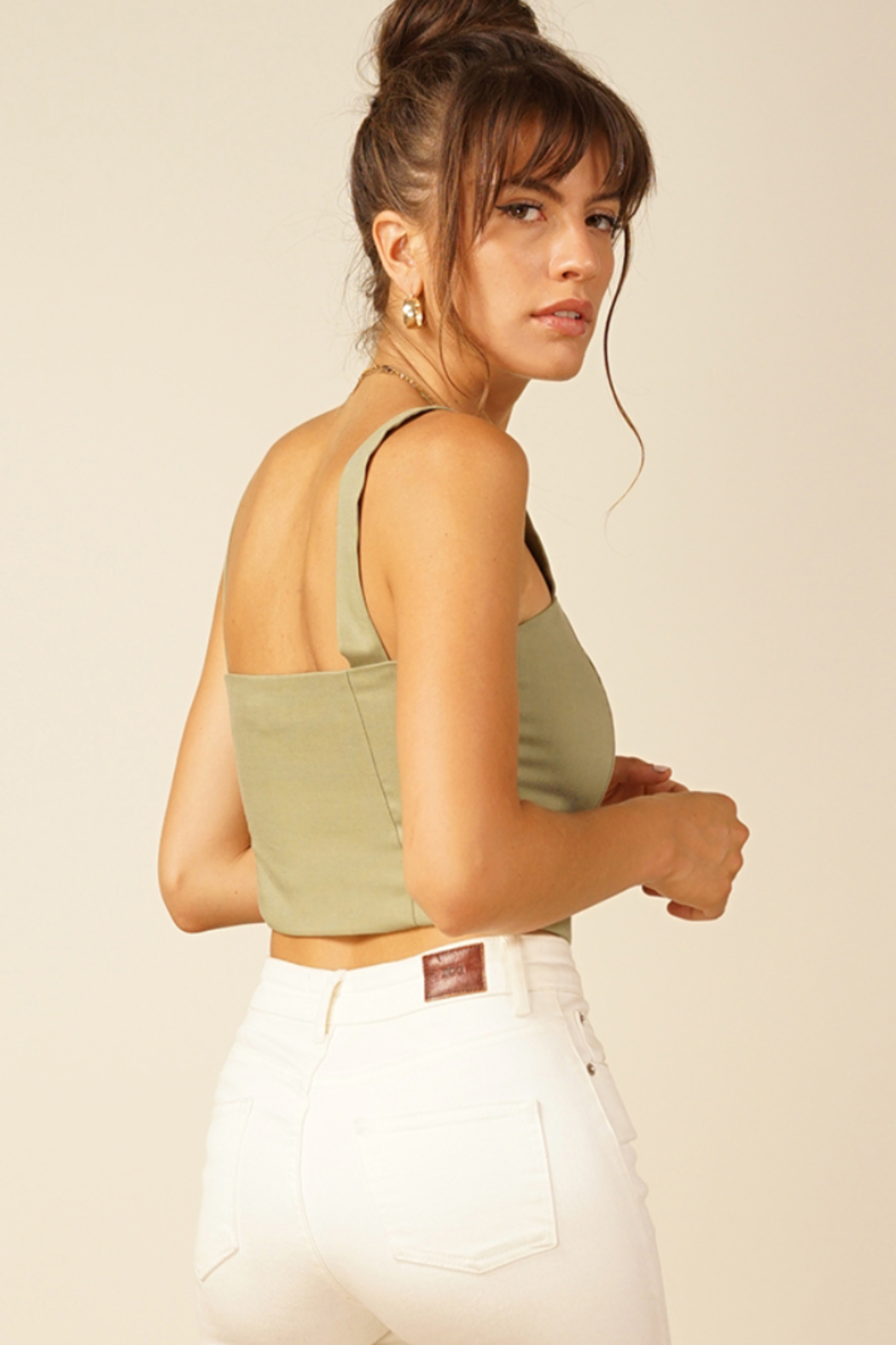 Line & Dot Brynn Top - Front Full Image