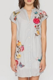 3J Workshop by Johnny Was Brynne Shirt Tunic - Front cropped