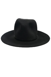 Janessa Leone Bryony Black Hat - Front full body