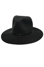 Janessa Leone Bryony Black Hat - Product Mini Image