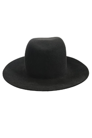 Janessa Leone Bryony Black Hat - Side cropped