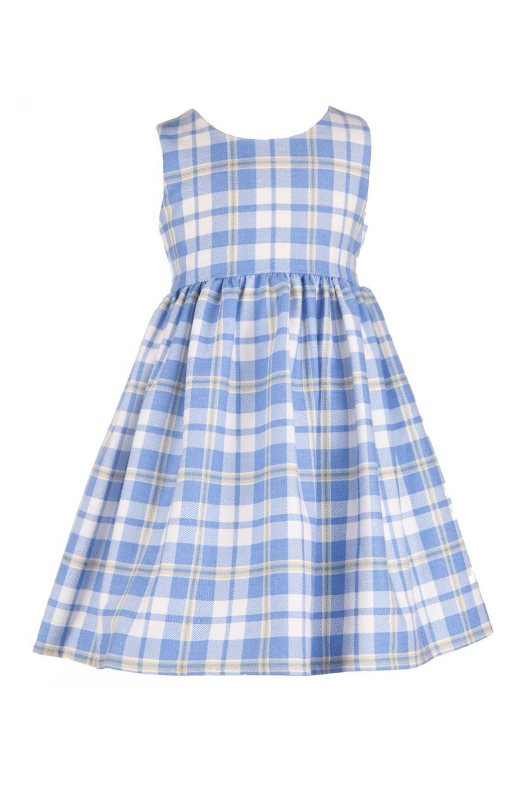 Bryony Martha Blue Check - Front Cropped Image