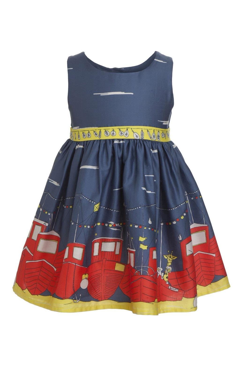 Bryony Martha Boats Dress - Front Cropped Image